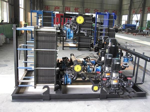 宁夏板式换热器机组