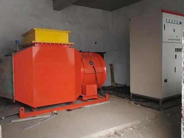 矿用热风机(电加热型)